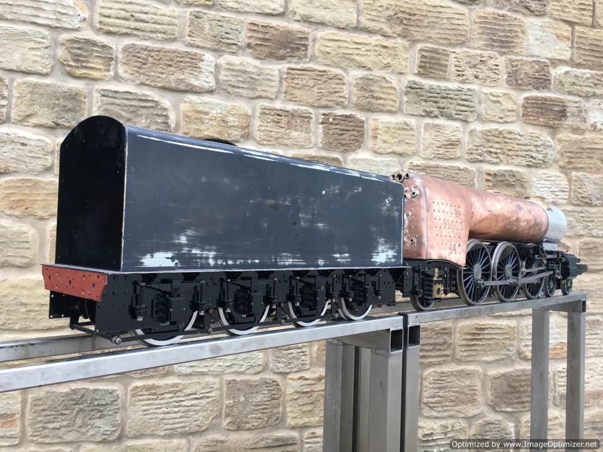 test 5 gauge LNER A3 Flying Scotsman live steam for sale 03-Optimized