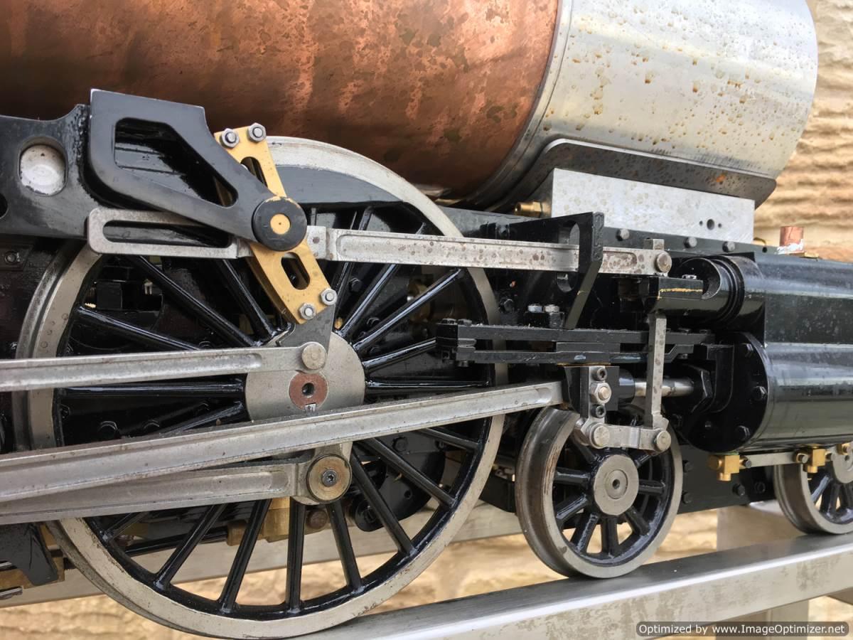 test 5 gauge LNER A3 Flying Scotsman live steam for sale 06-Optimized