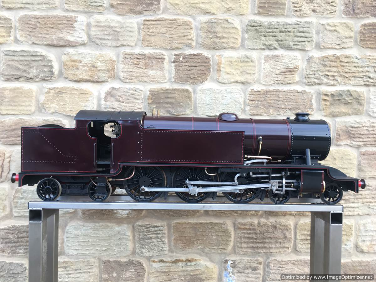 test Baltic Tank Engine 5 inch gauge live steam model for sale 10-Optimized