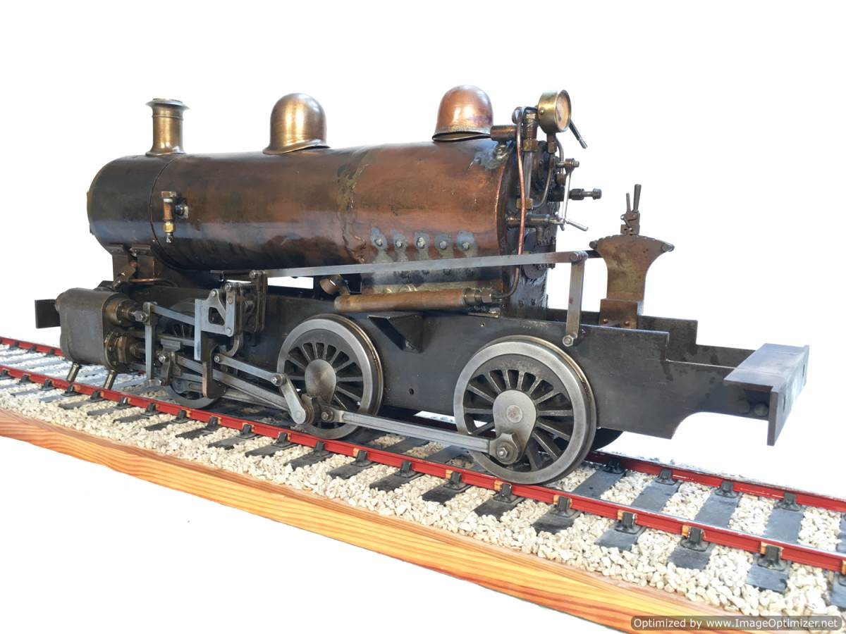 test LBSC PV Baker miniature steam loco for sale 01-Optimized