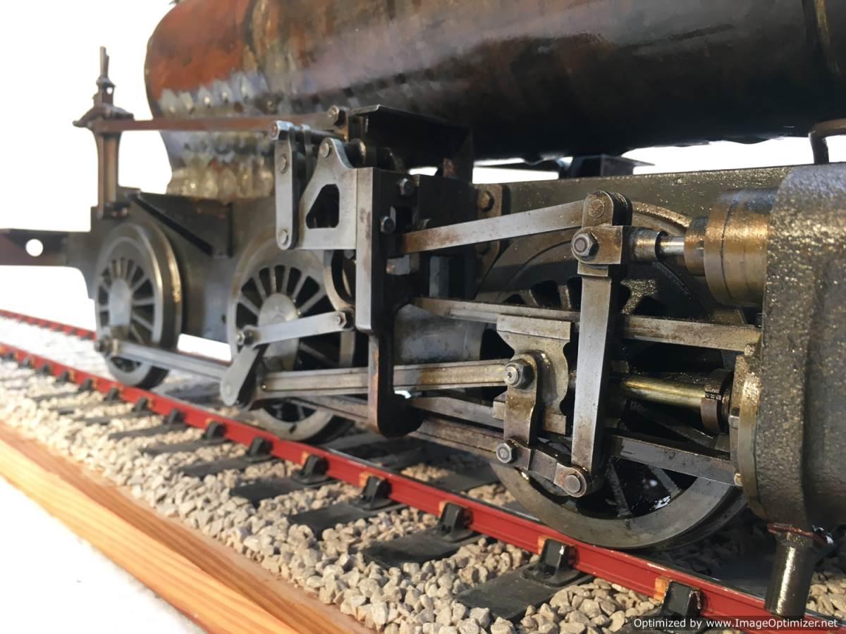 test LBSC PV Baker miniature steam loco for sale 10-Optimized