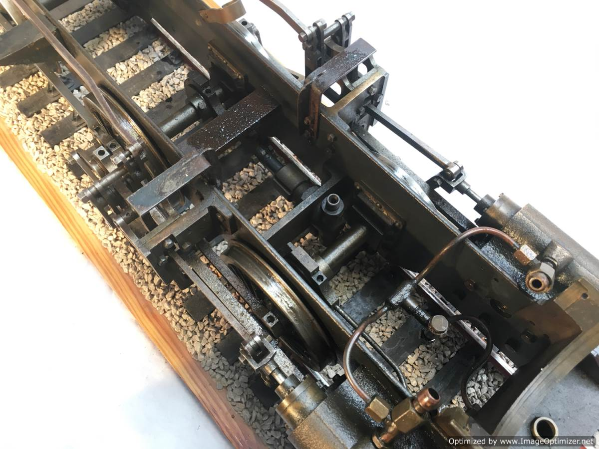 test LBSC PV Baker miniature steam loco for sale 16-Optimized