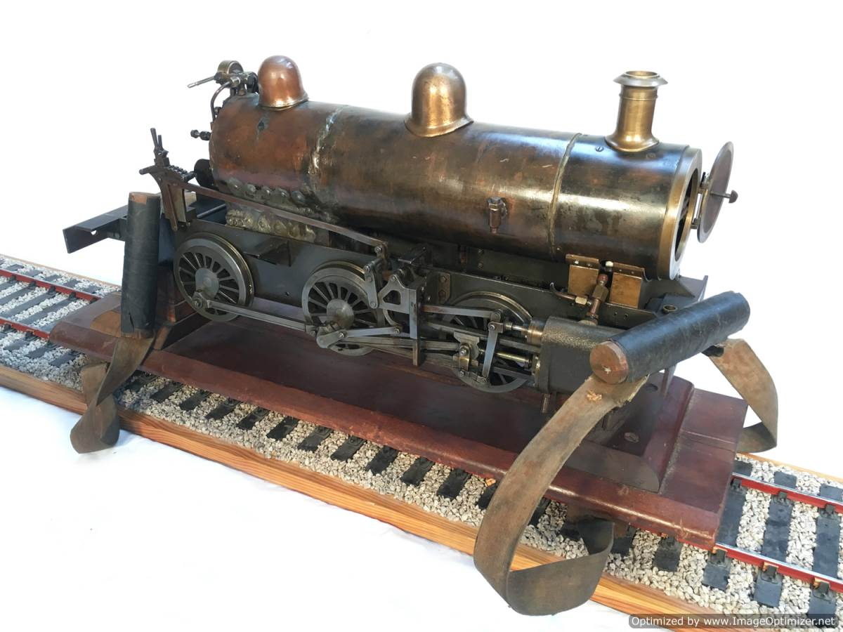 test LBSC PV Baker miniature steam loco for sale 21-Optimized