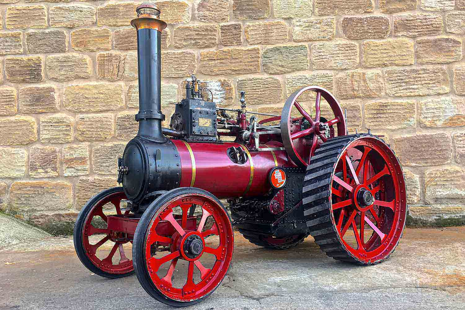 test Marshall-Traction-Engine-3-inch-scale-live-steam-for-sale-01