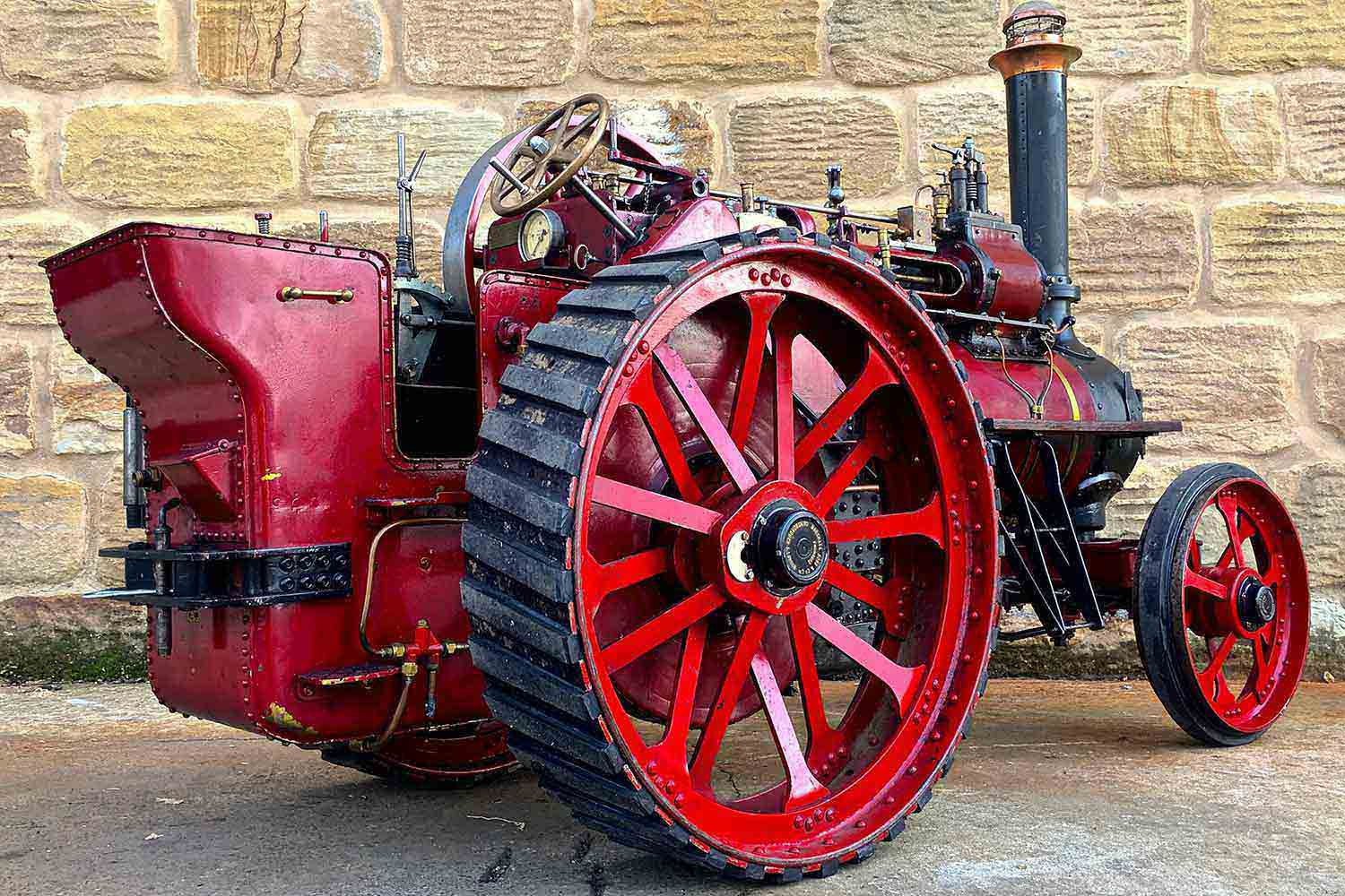 test Marshall-Traction-Engine-3-inch-scale-live-steam-for-sale-03