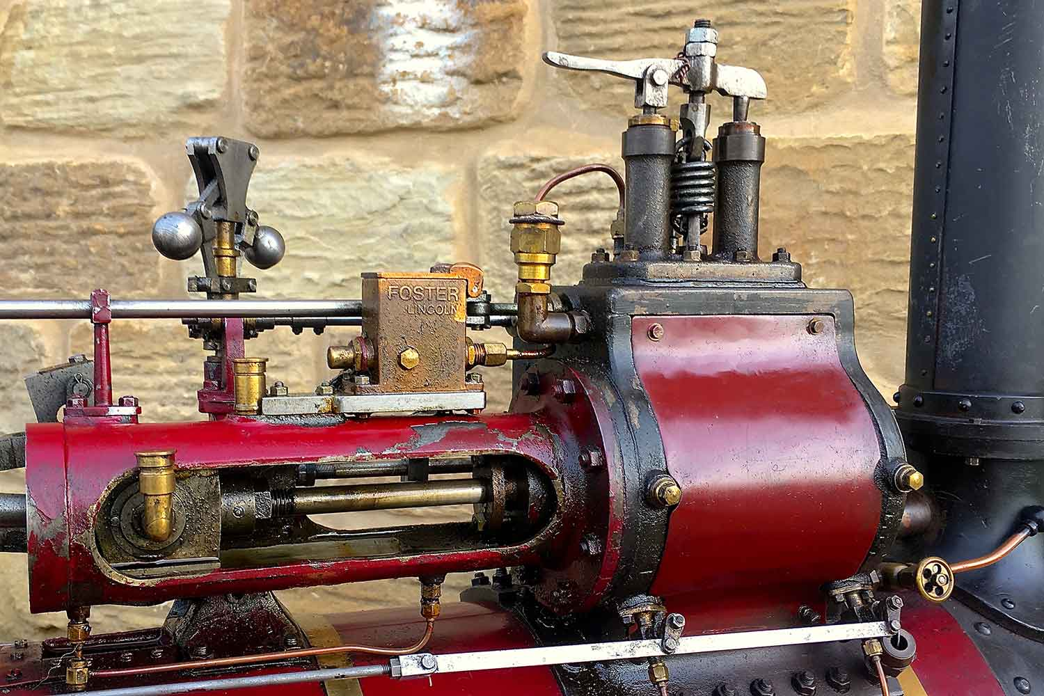 test Marshall-Traction-Engine-3-inch-scale-live-steam-for-sale-07