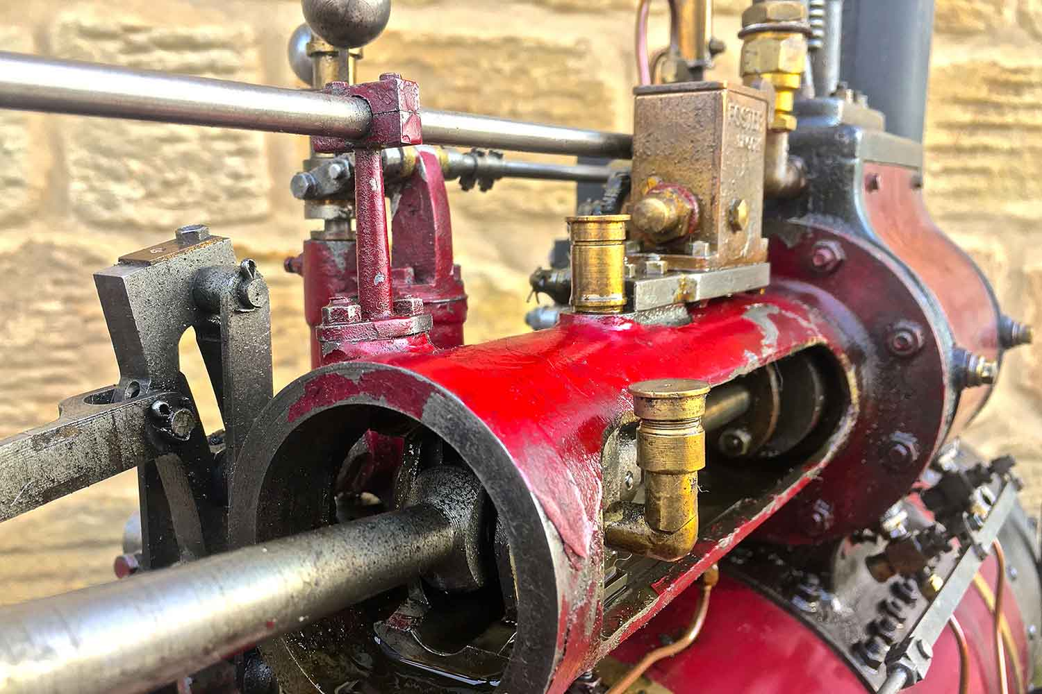 test Marshall-Traction-Engine-3-inch-scale-live-steam-for-sale-16