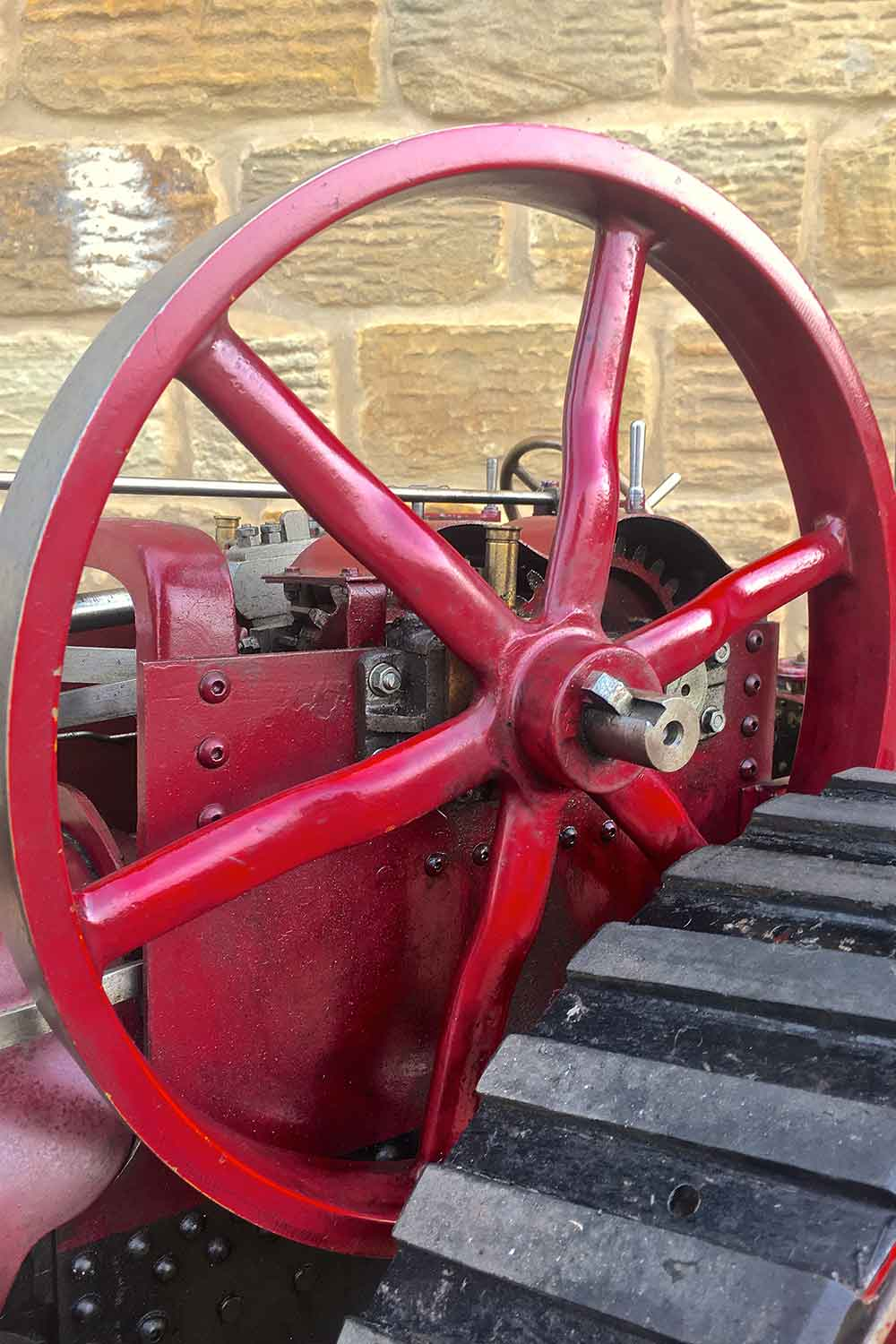 test Marshall-Traction-Engine-3-inch-scale-live-steam-for-sale-26
