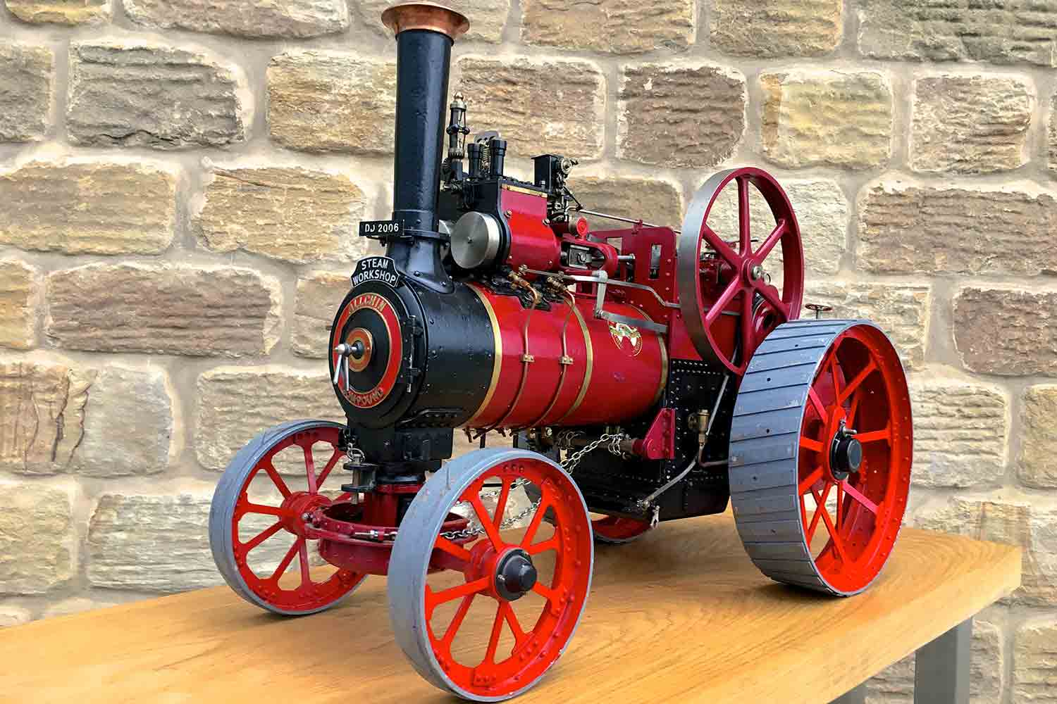 test Royal-Chester-Alchin-DCC-traction-engine-live-steam-for-sale-01