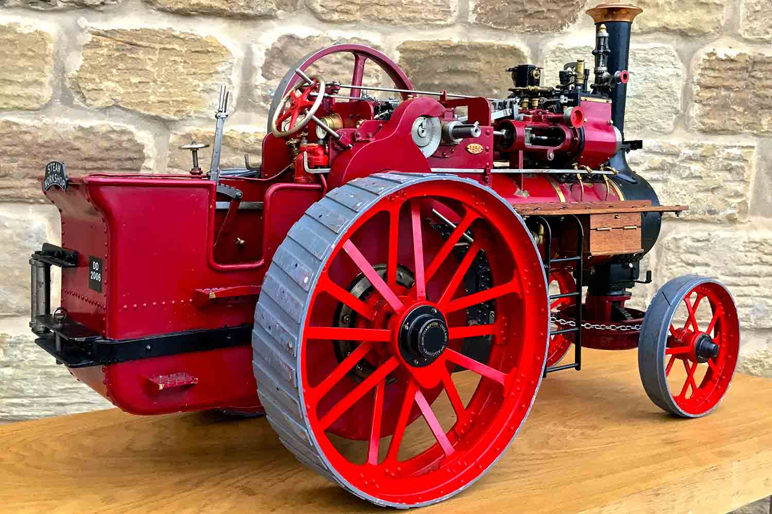 test Royal-Chester-Alchin-DCC-traction-engine-live-steam-for-sale-02