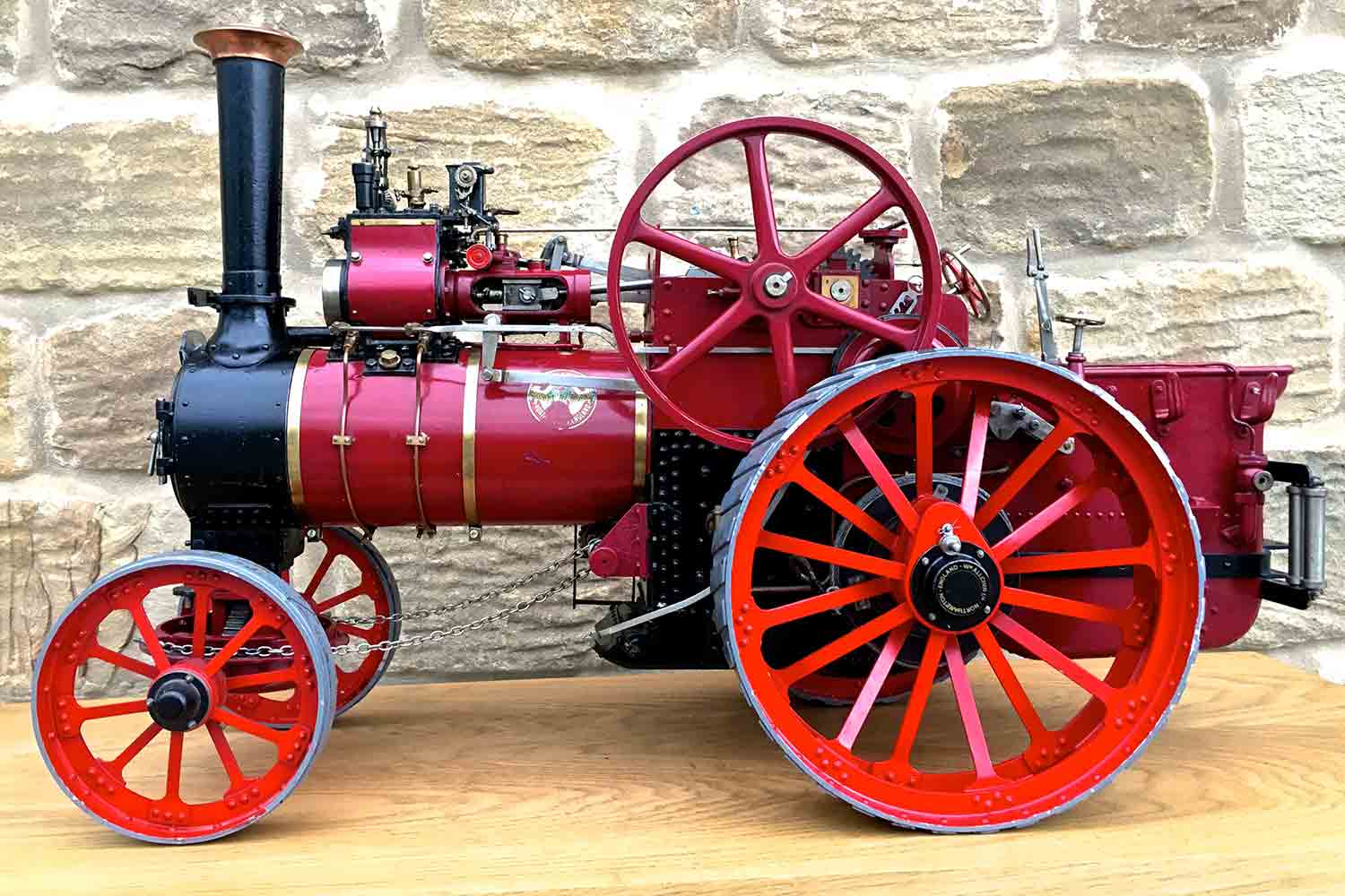test Royal-Chester-Alchin-DCC-traction-engine-live-steam-for-sale-03
