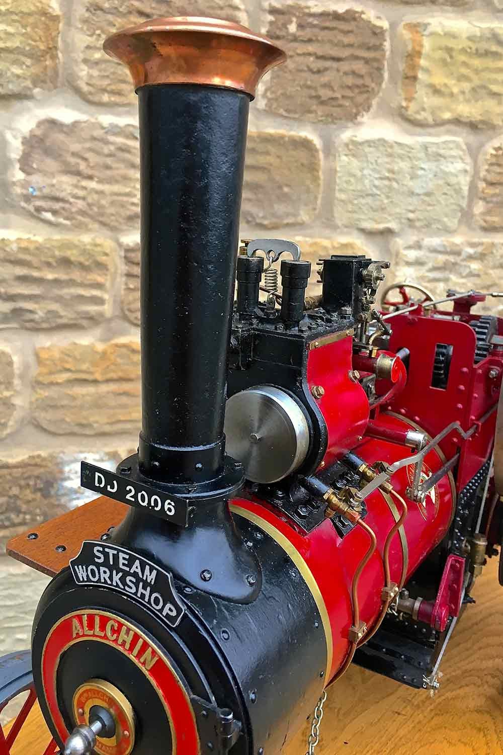 test Royal-Chester-Alchin-DCC-traction-engine-live-steam-for-sale-04