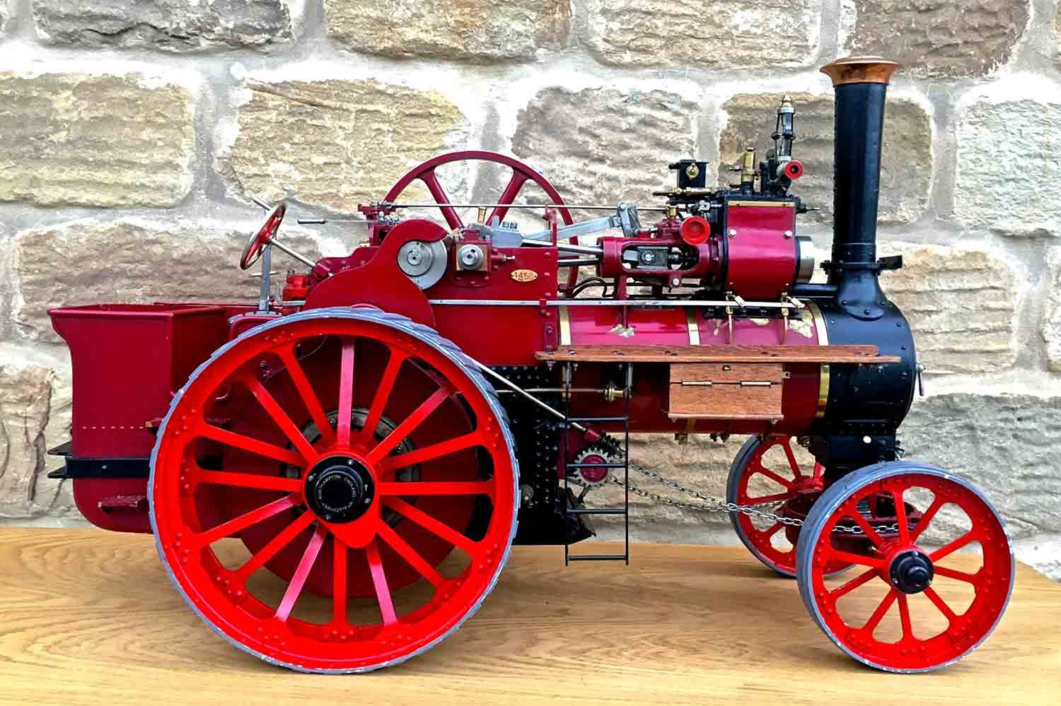 test Royal-Chester-Alchin-DCC-traction-engine-live-steam-for-sale-05