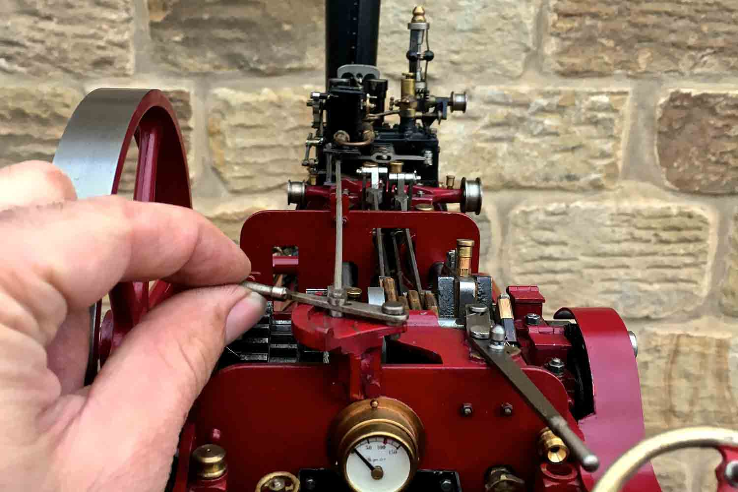 test Royal-Chester-Alchin-DCC-traction-engine-live-steam-for-sale-06
