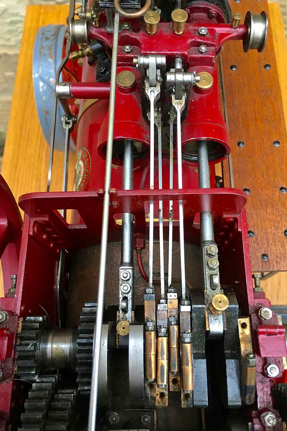 test Royal-Chester-Alchin-DCC-traction-engine-live-steam-for-sale-08