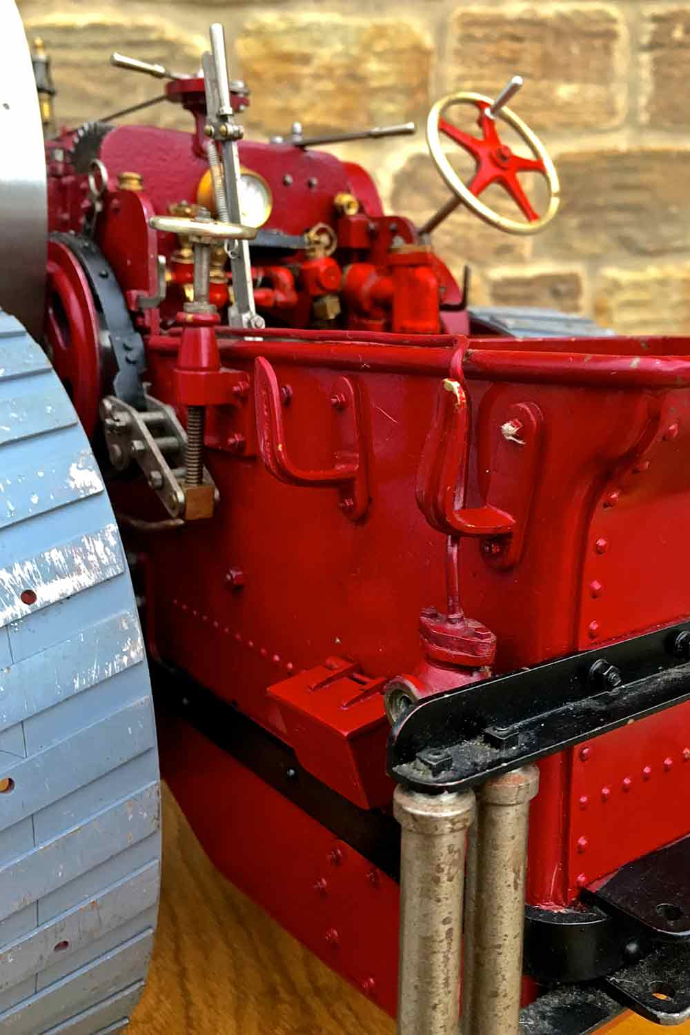 test Royal-Chester-Alchin-DCC-traction-engine-live-steam-for-sale-11