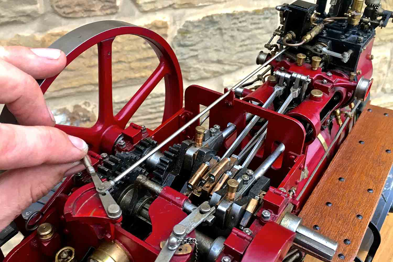 test Royal-Chester-Alchin-DCC-traction-engine-live-steam-for-sale-16