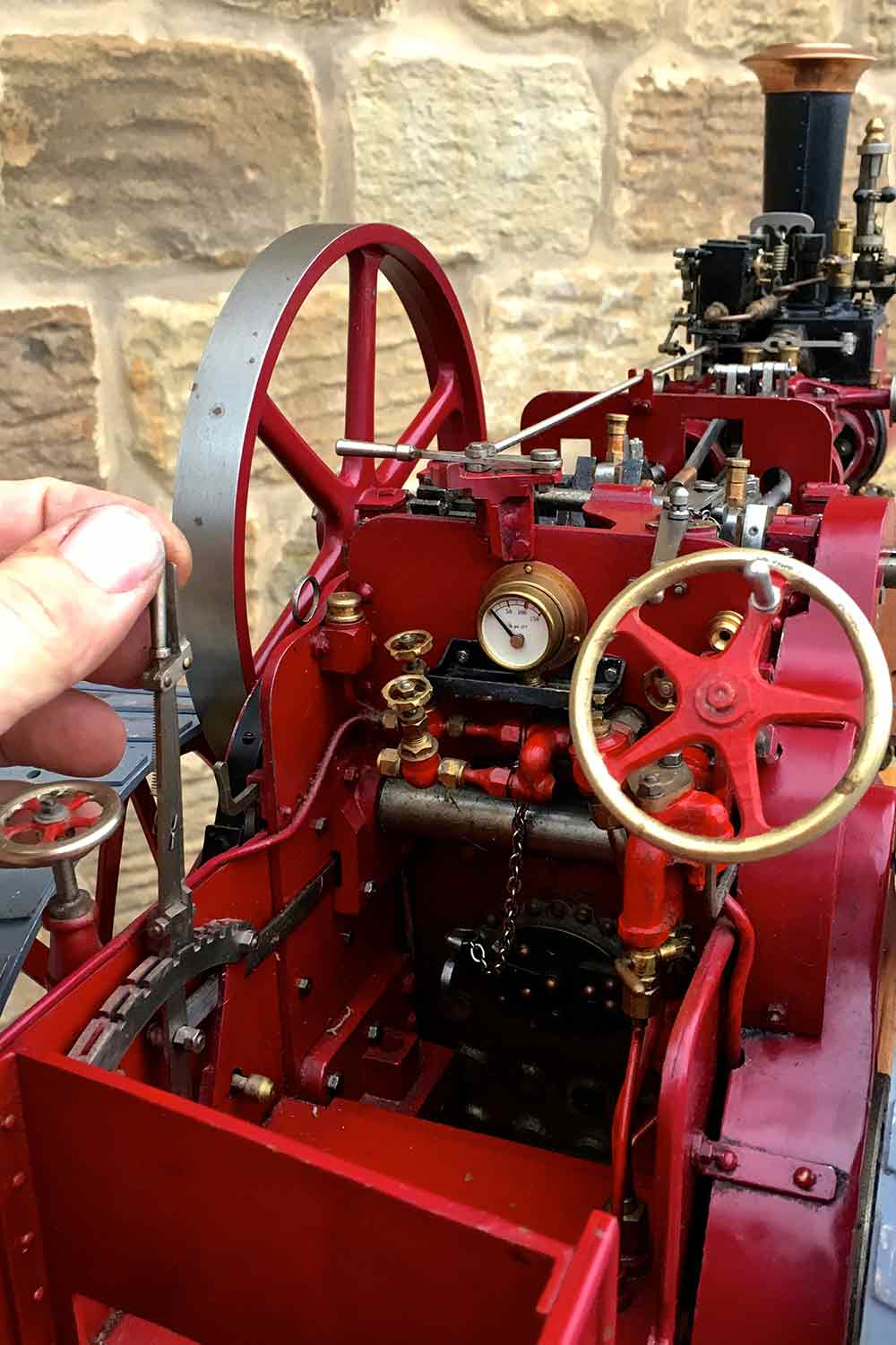 test Royal-Chester-Alchin-DCC-traction-engine-live-steam-for-sale-17