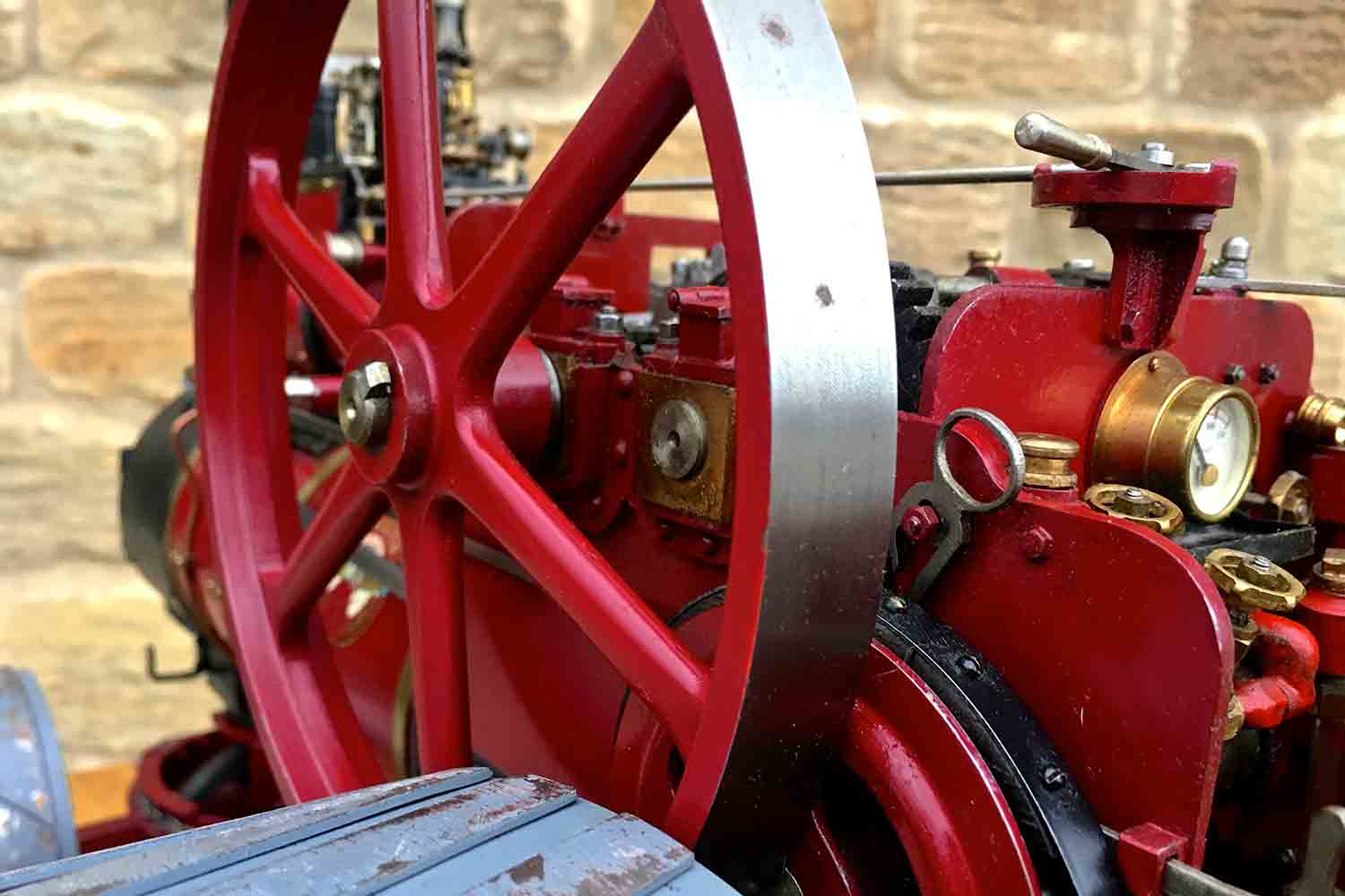 test Royal-Chester-Alchin-DCC-traction-engine-live-steam-for-sale-18