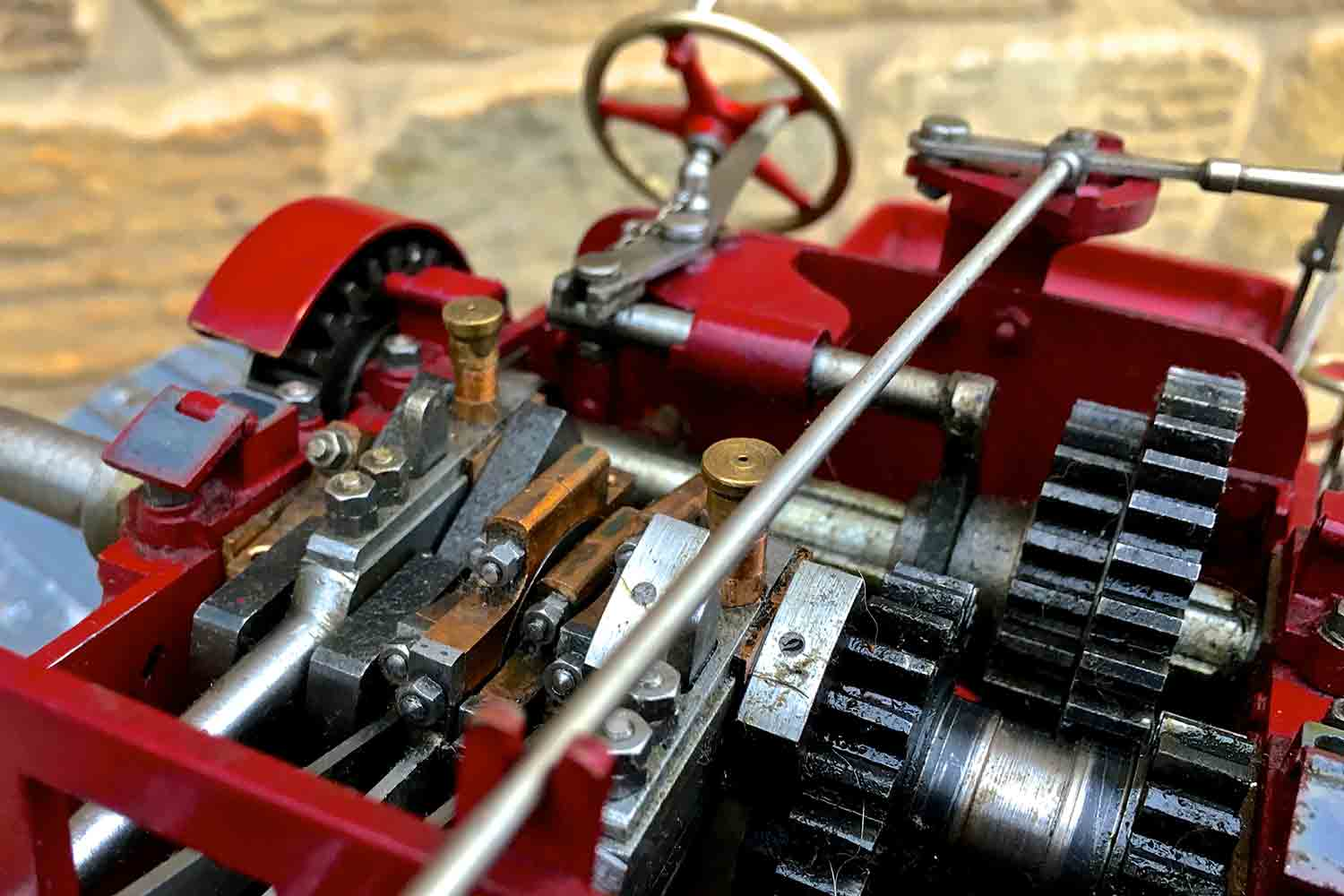 test Royal-Chester-Alchin-DCC-traction-engine-live-steam-for-sale-20
