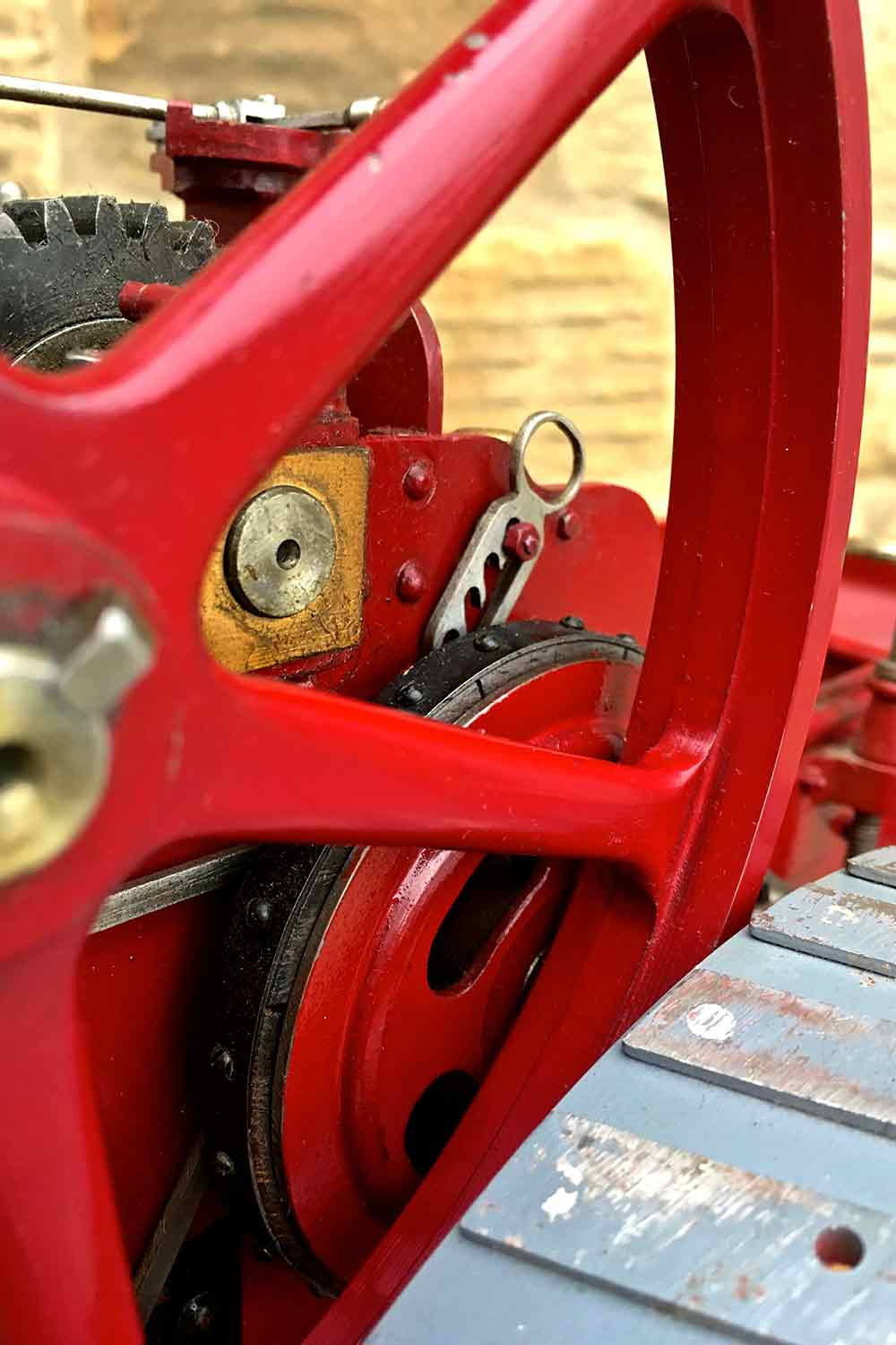 test Royal-Chester-Alchin-DCC-traction-engine-live-steam-for-sale-21