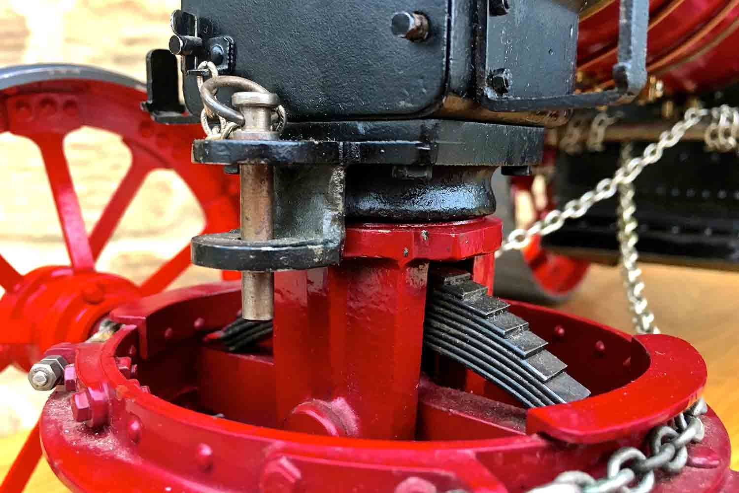 test Royal-Chester-Alchin-DCC-traction-engine-live-steam-for-sale-22