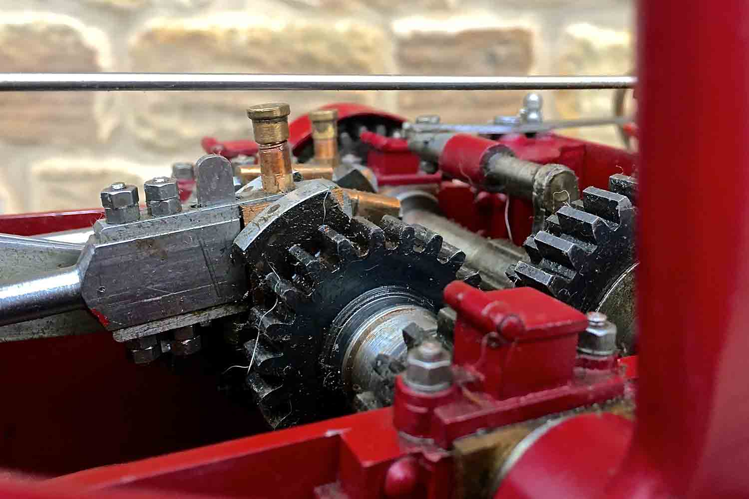 test Royal-Chester-Alchin-DCC-traction-engine-live-steam-for-sale-25