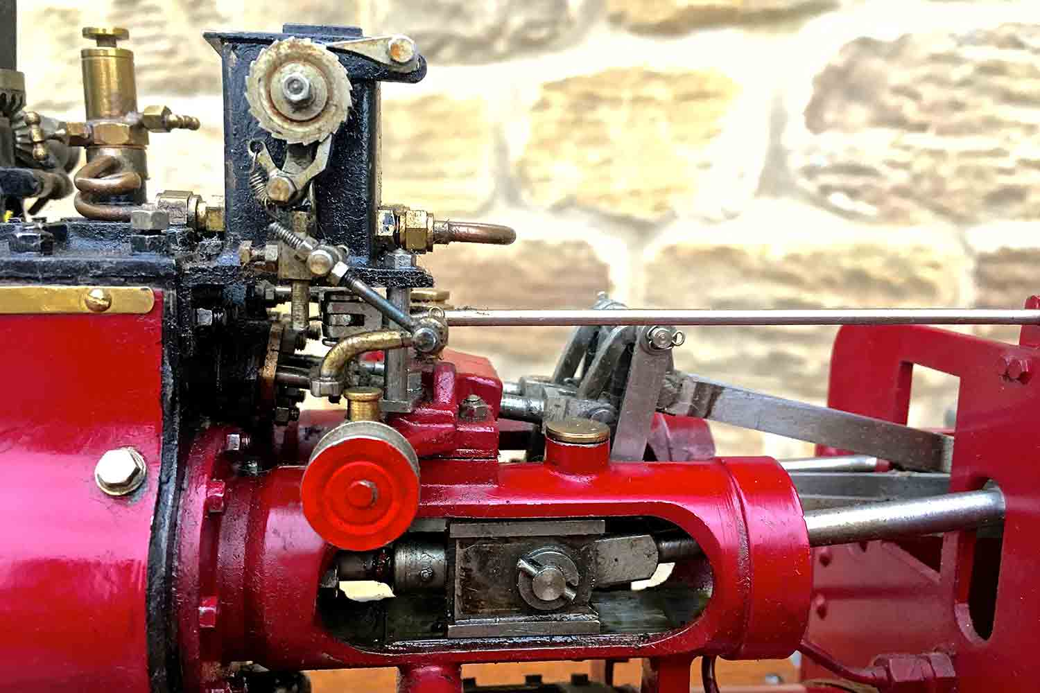 test Royal-Chester-Alchin-DCC-traction-engine-live-steam-for-sale-26