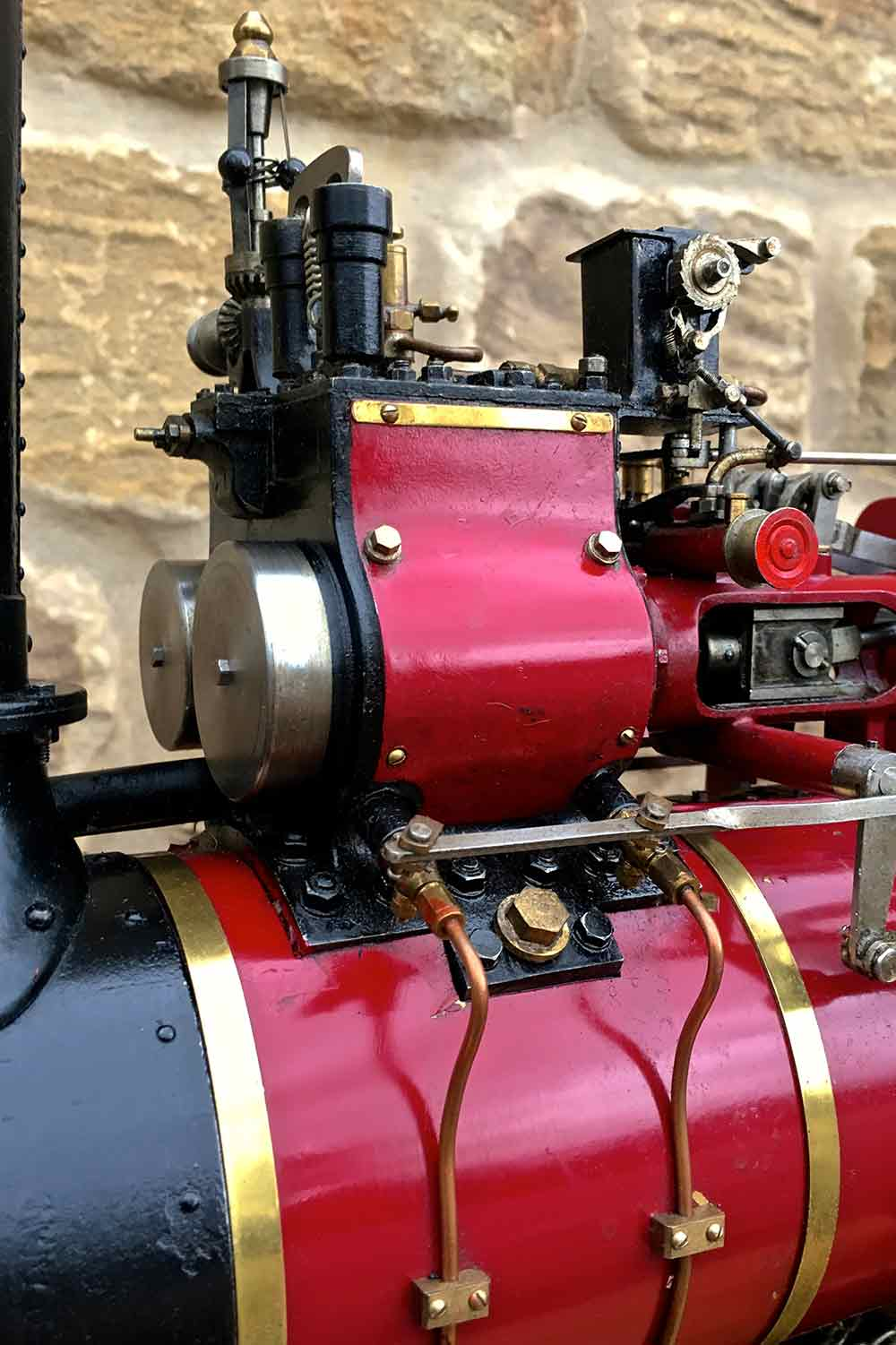 test Royal-Chester-Alchin-DCC-traction-engine-live-steam-for-sale-27
