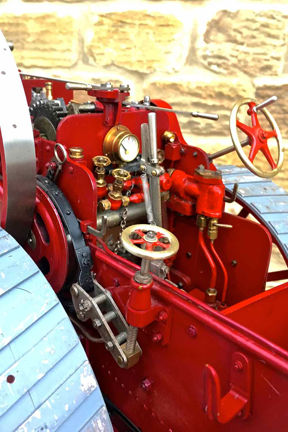 test Royal-Chester-Alchin-DCC-traction-engine-live-steam-for-sale