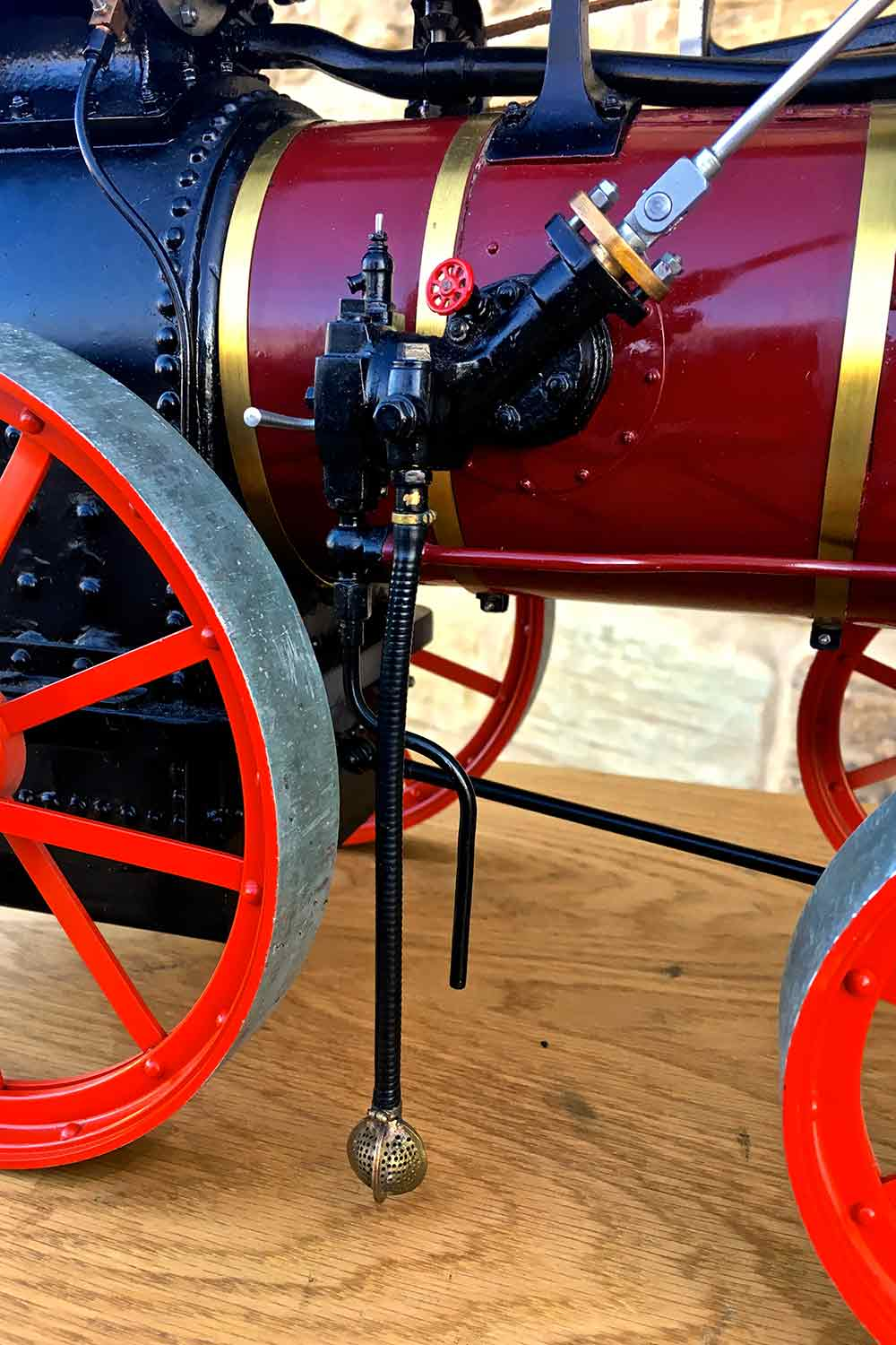 test Marshall-Portable-Traction-Engine-Live-Steam-model-for-sale-11