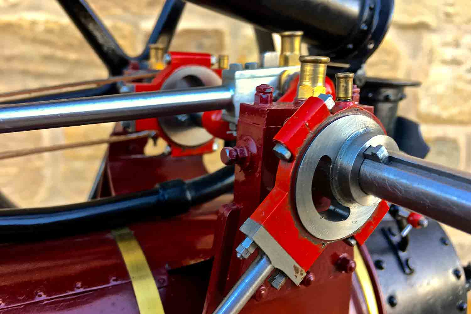 test Marshall-Portable-Traction-Engine-Live-Steam-model-for-sale-13
