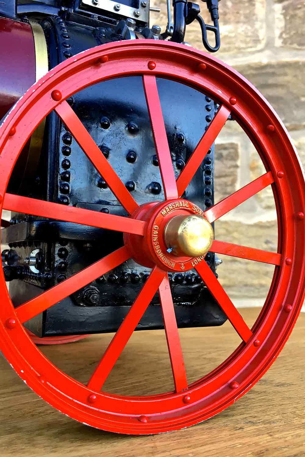 test Marshall-Portable-Traction-Engine-Live-Steam-model-for-sale-15