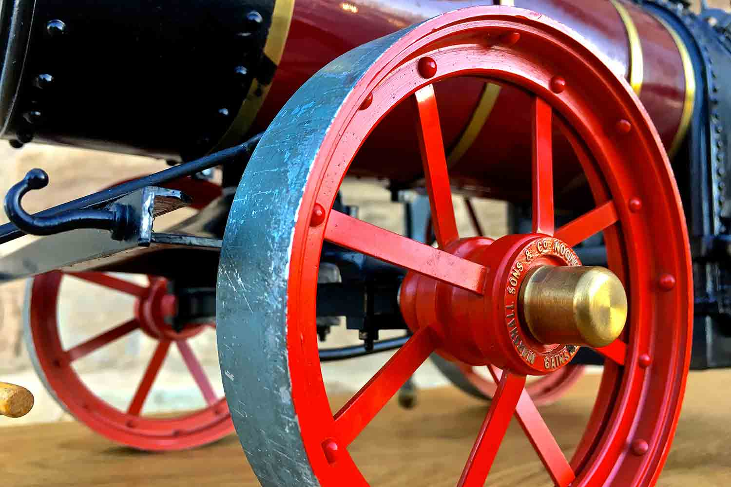 test Marshall-Portable-Traction-Engine-Live-Steam-model-for-sale-16