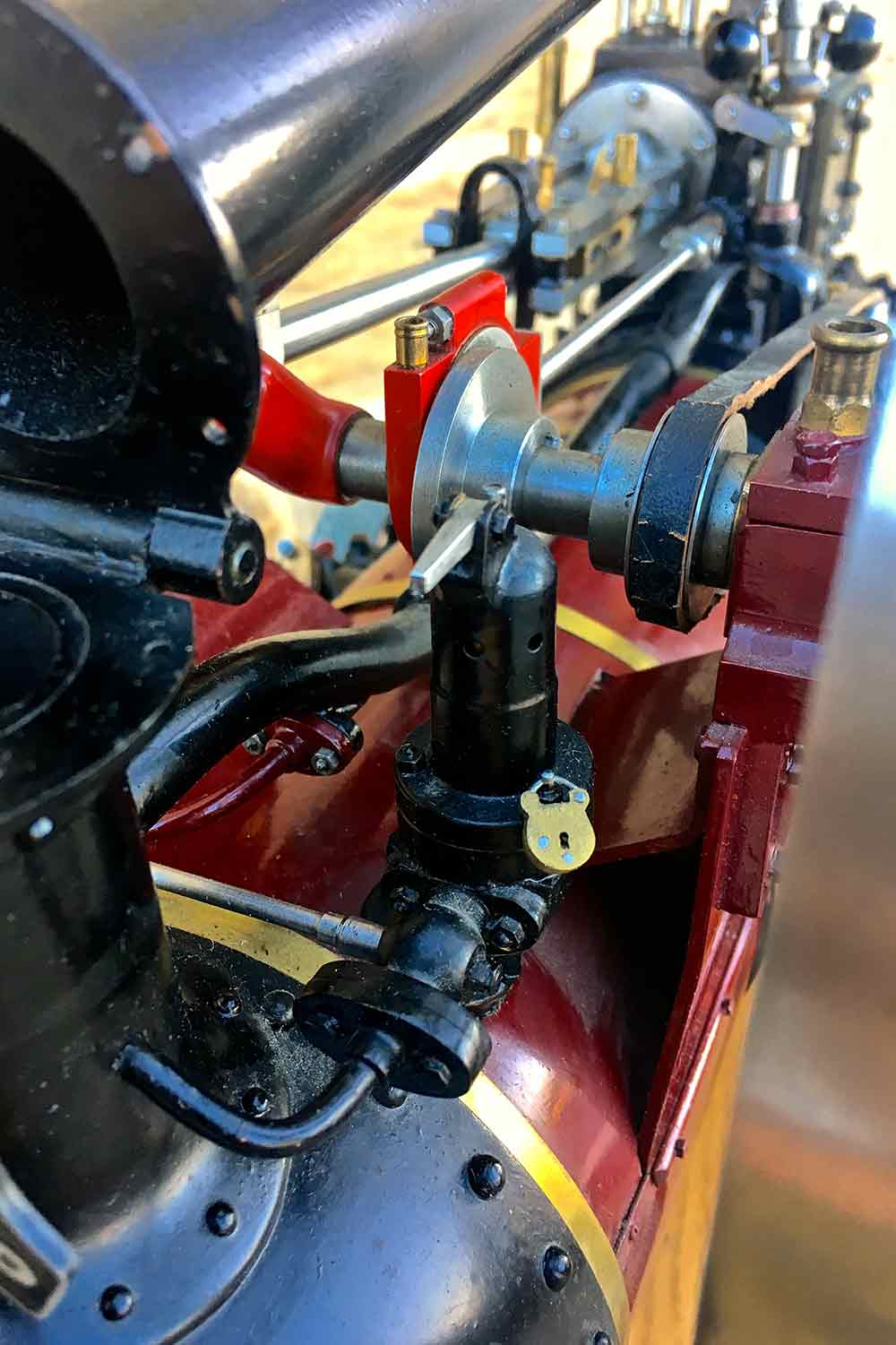 test Marshall-Portable-Traction-Engine-Live-Steam-model-for-sale-24