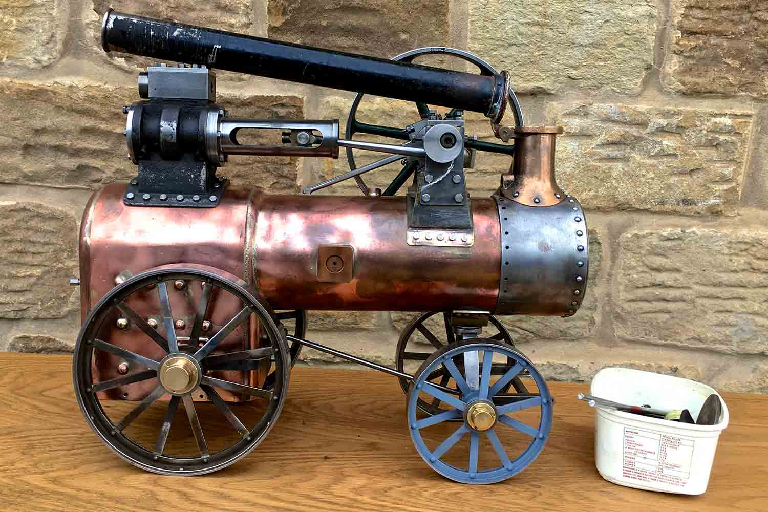 test Marshall-Portable-Traction-Engine-part-Live-Steam-model-for-sale-01