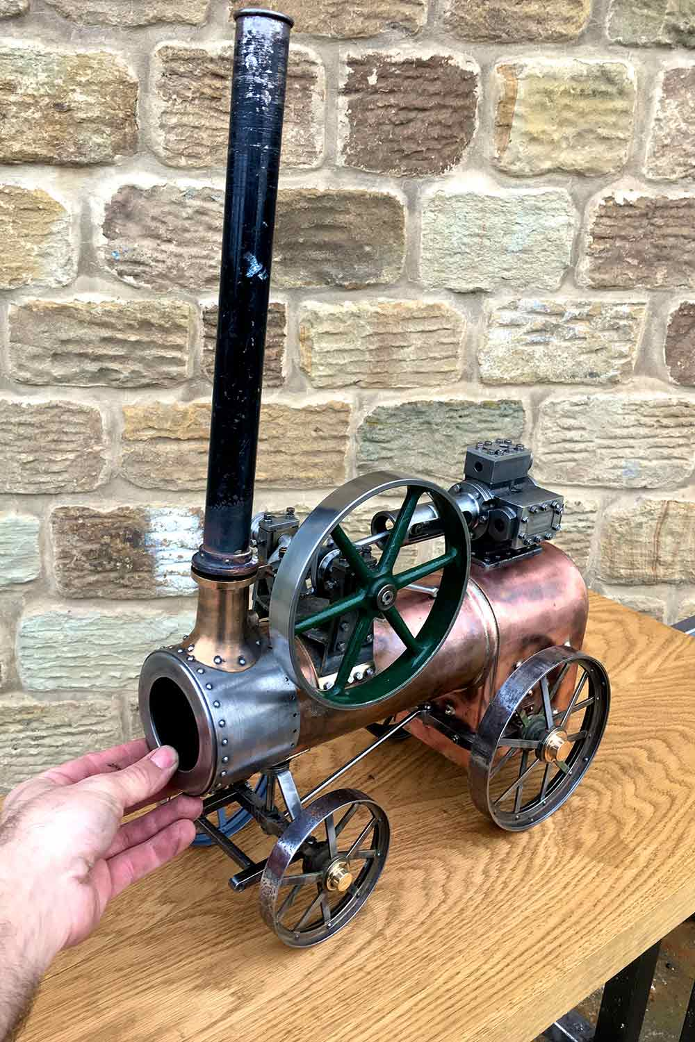test Marshall-Portable-Traction-Engine-part-Live-Steam-model-for-sale-05