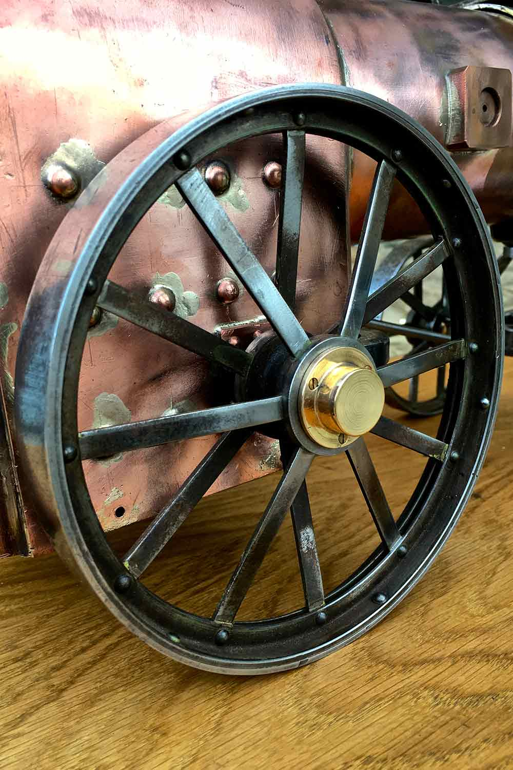 test Marshall-Portable-Traction-Engine-part-Live-Steam-model-for-sale-09