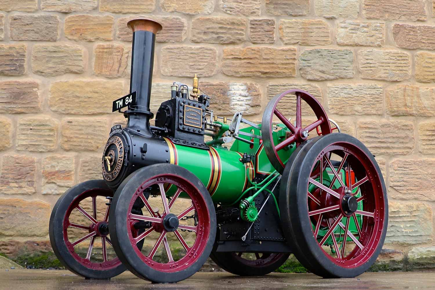 test 3-inch-Burrell-traction-engine-plastow-live-steam-for-sale-1