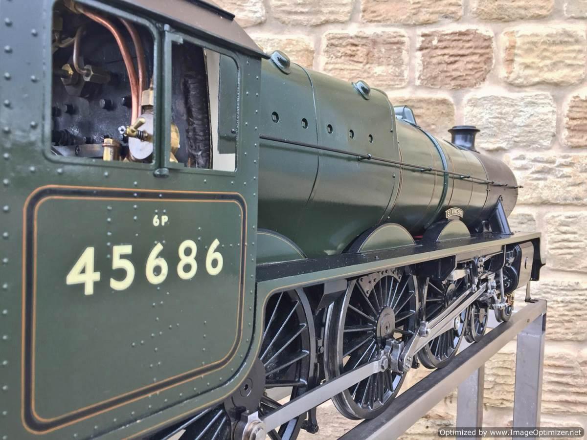 test 5 inch Kingscale Jubilee Rebuild No (13)