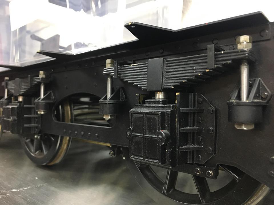 test Kingscale Jubilee rebuild new tender springs