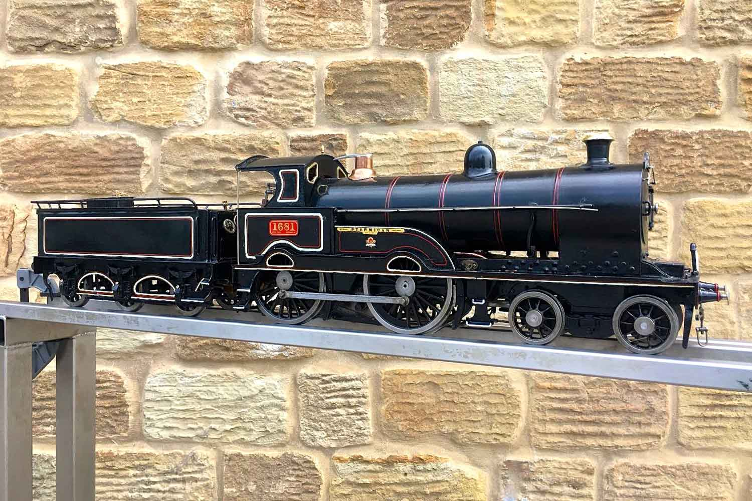test 3-and-a-half-inch-LNWR-King-George-the-Fifth-live-steam-locomotive-for-sale-06
