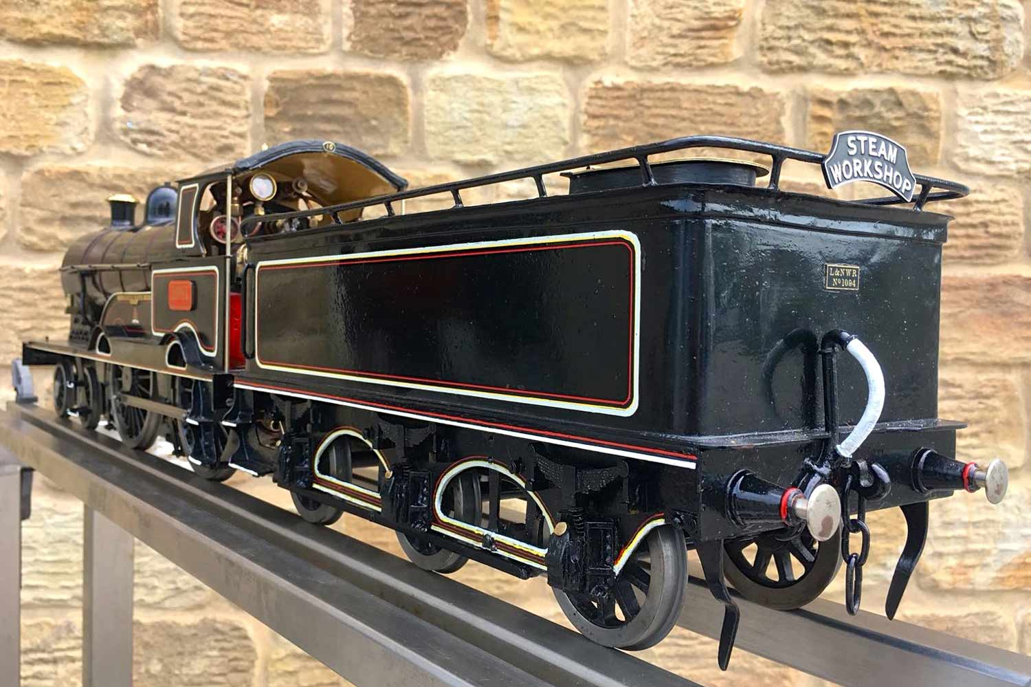 test 3-and-a-half-inch-LNWR-King-George-the-Fifth-live-steam-locomotive-for-sale-08