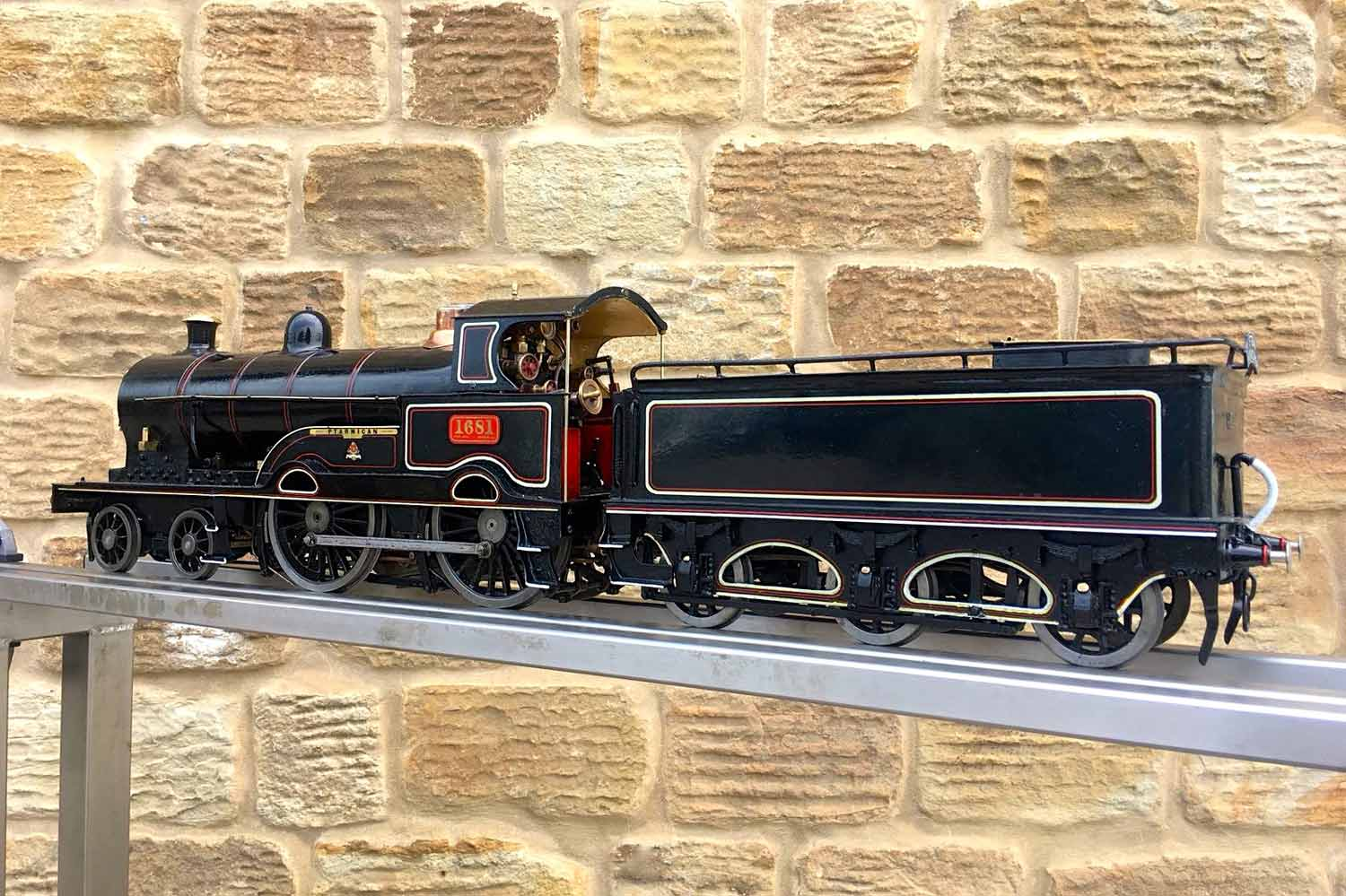 test 3-and-a-half-inch-LNWR-King-George-the-Fifth-live-steam-locomotive-for-sale-10