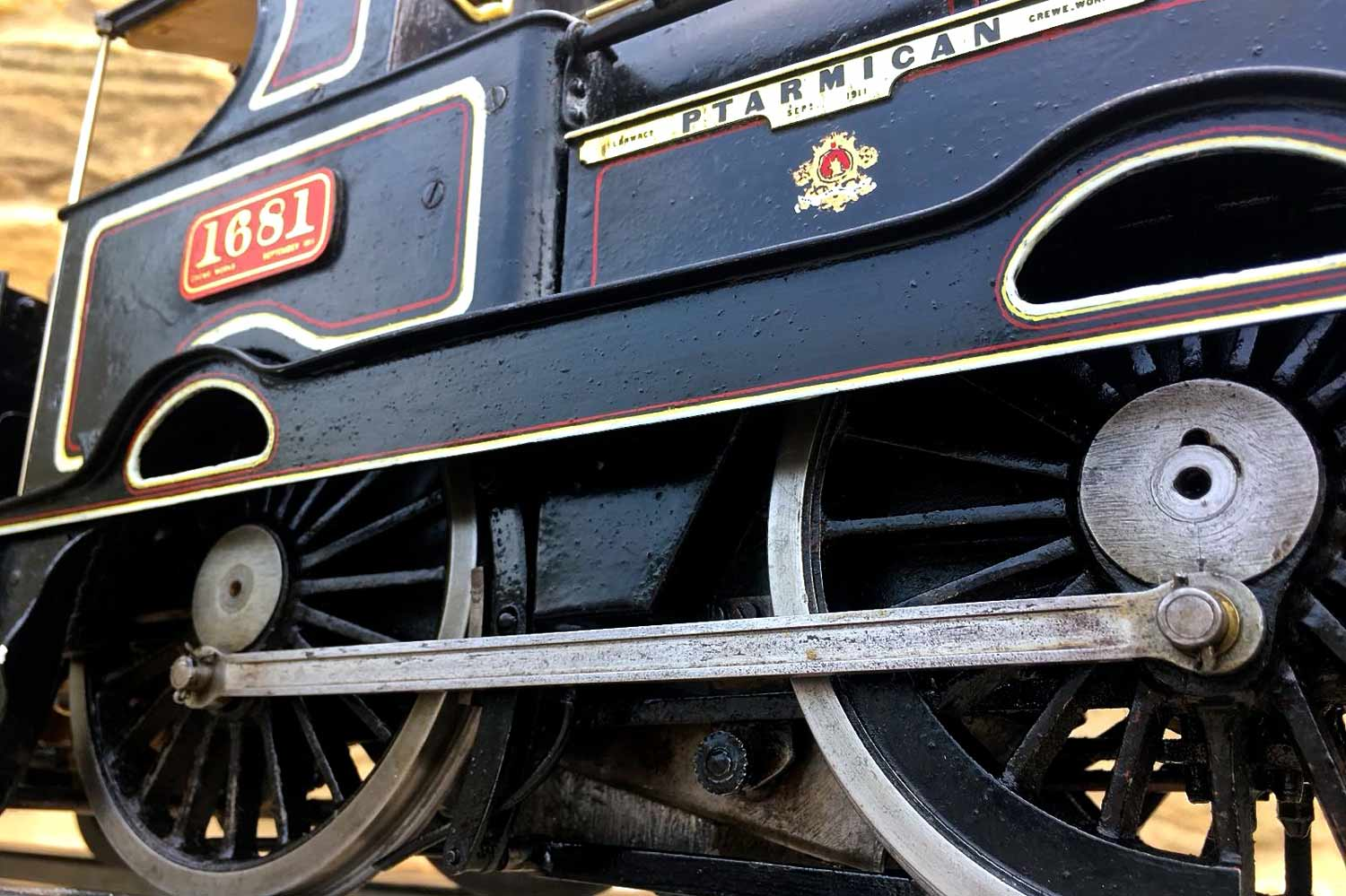 test 3-and-a-half-inch-LNWR-King-George-the-Fifth-live-steam-locomotive-for-sale-11