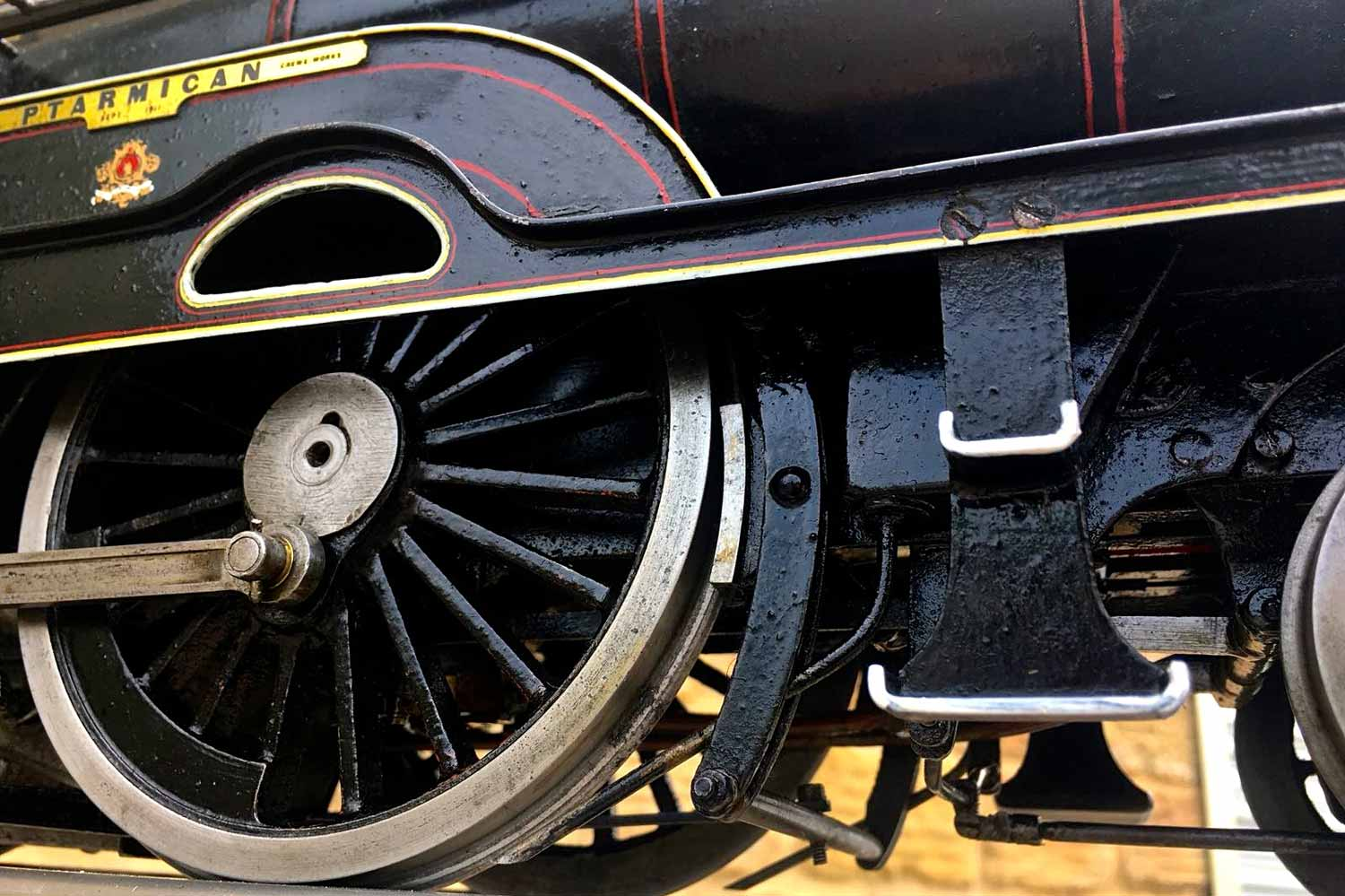 test 3-and-a-half-inch-LNWR-King-George-the-Fifth-live-steam-locomotive-for-sale-14