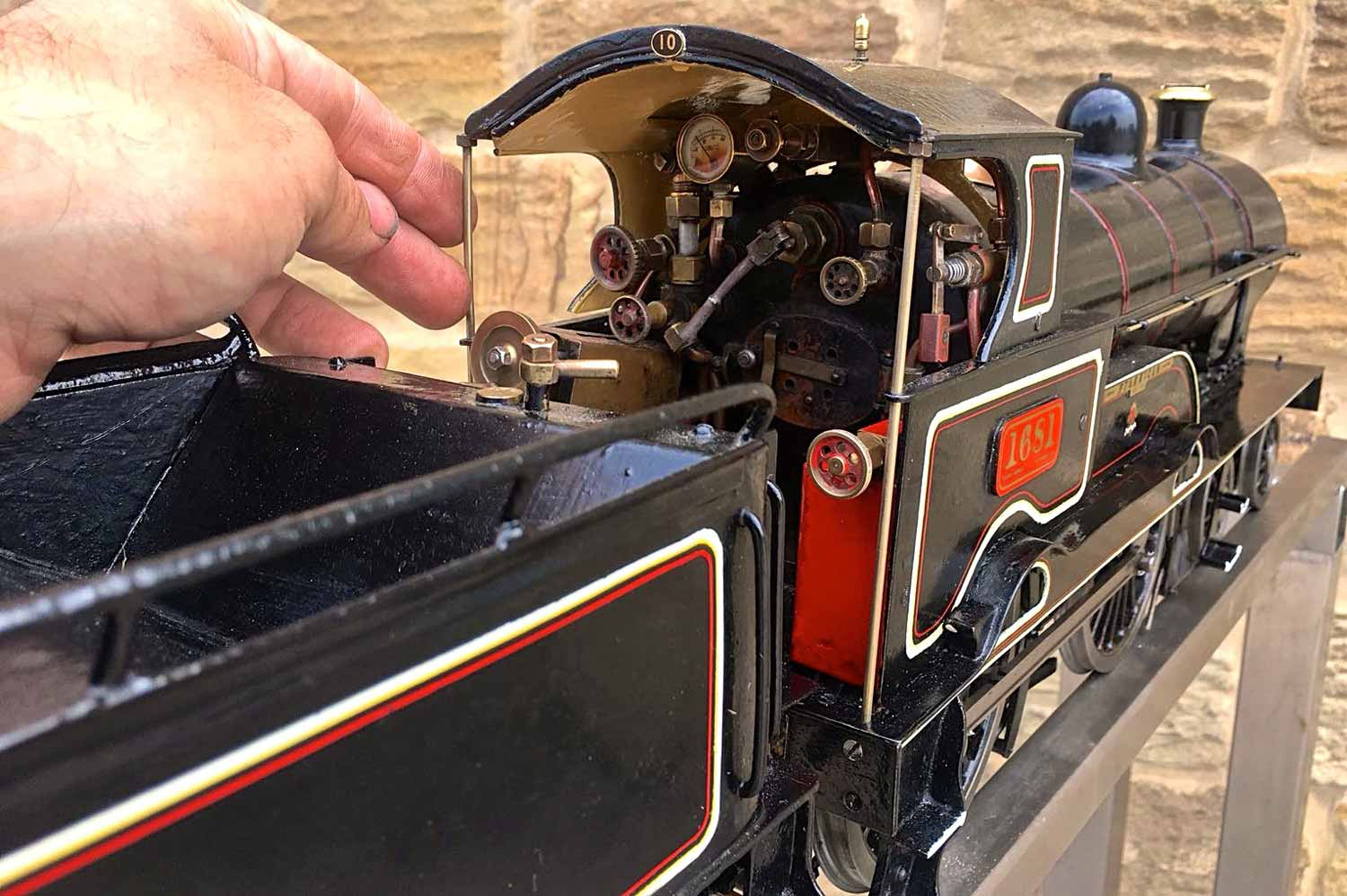 test 3-and-a-half-inch-LNWR-King-George-the-Fifth-live-steam-locomotive-for-sale-16
