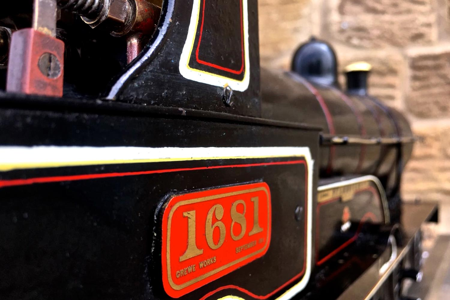 test 3-and-a-half-inch-LNWR-King-George-the-Fifth-live-steam-locomotive-for-sale-22