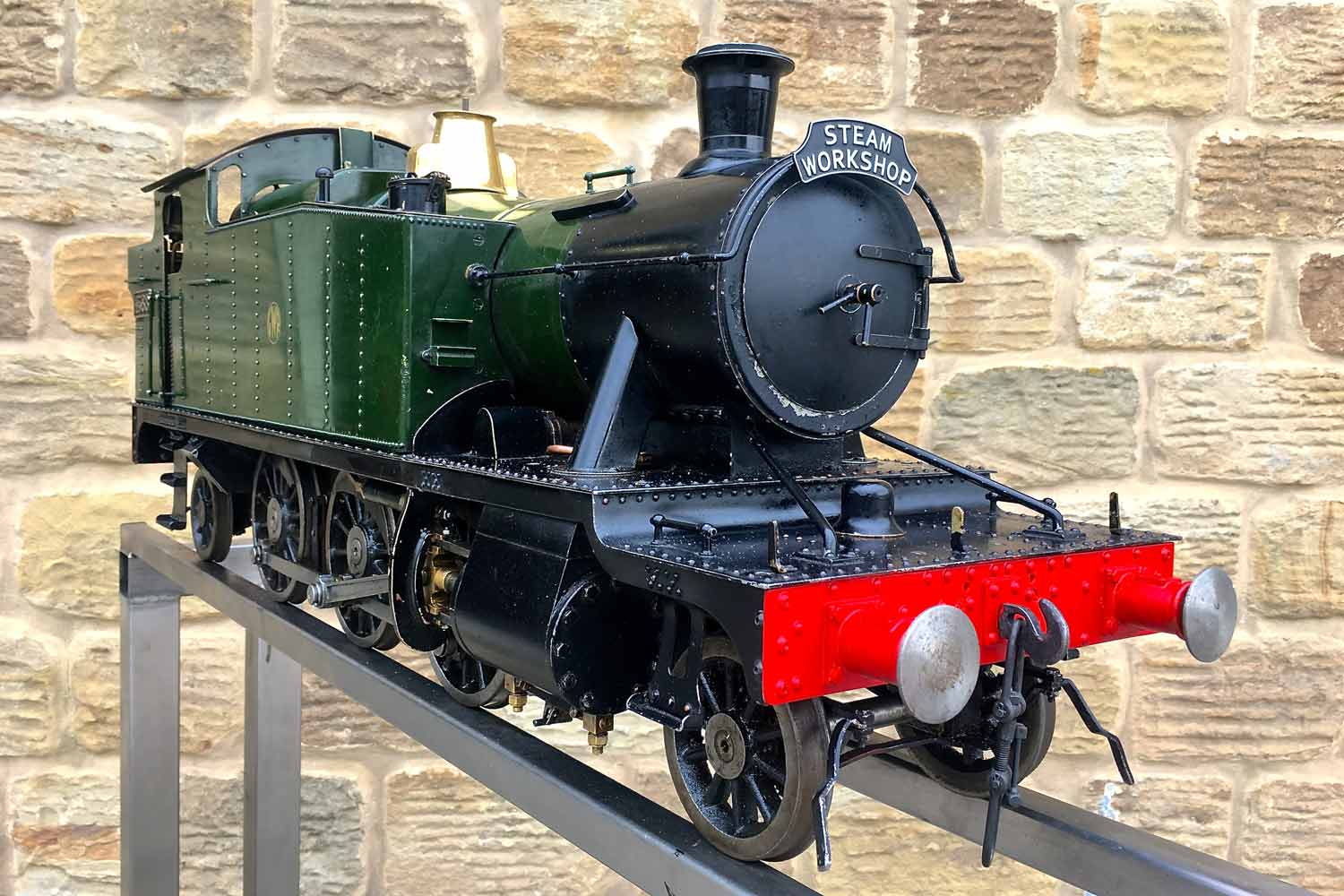test 5-inch-gauge-GWR-45xx-prarie-tank-live-steam-Model-for-sale-06