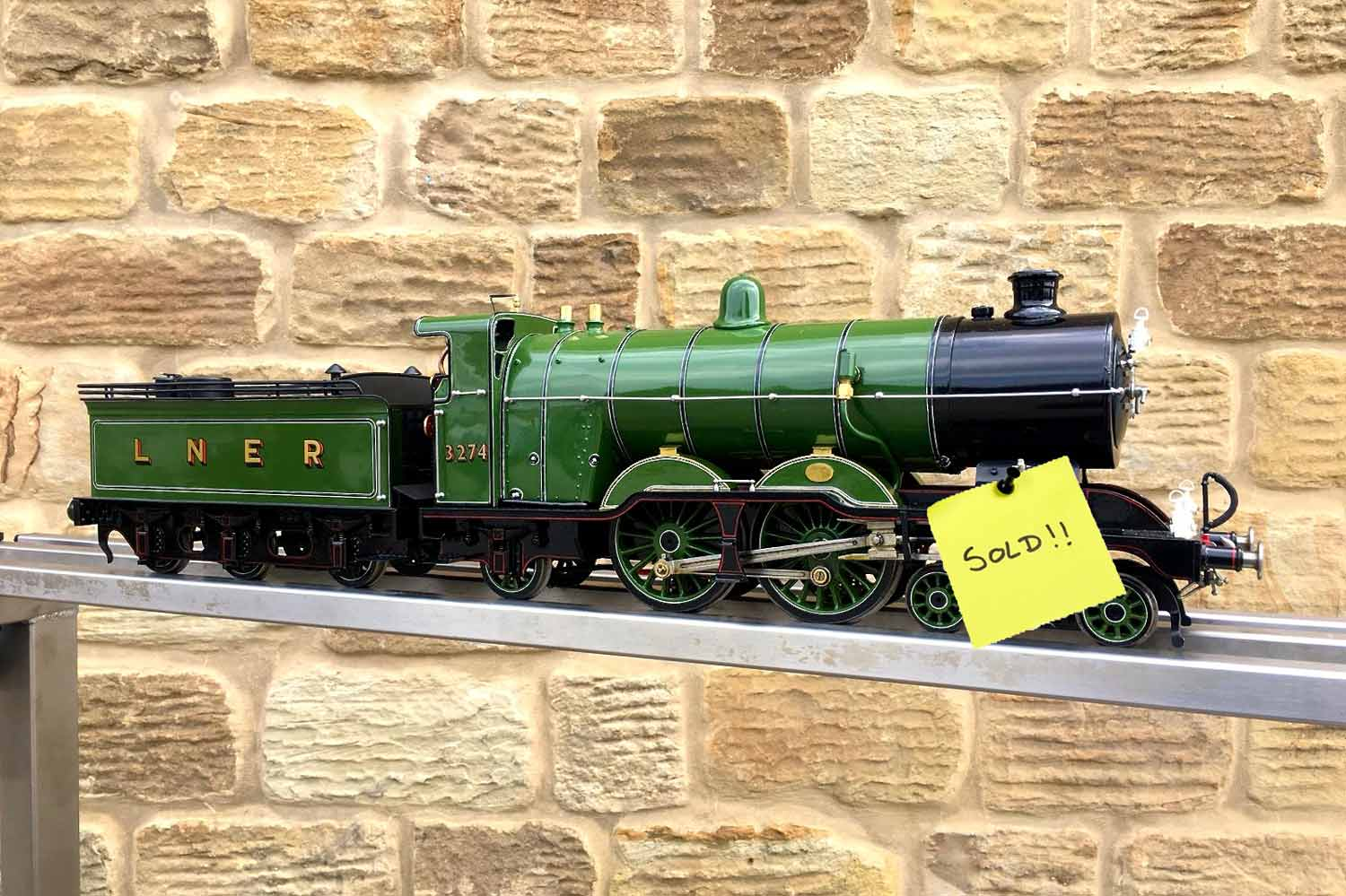 test SOLD-2-and-a-half-inch-gauge-3-GNR-C1-Atlantic-Ayesha-live-steam-locomotive-for-sale-15